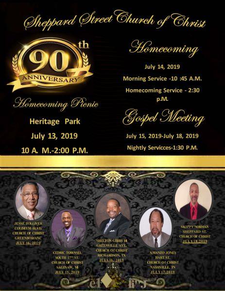 90th Church Anniversary